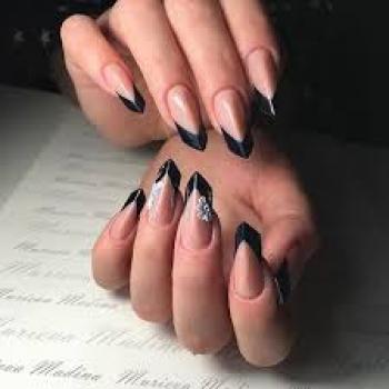Cложное наращивание ногтей