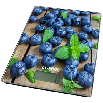 Весы кухонные LUMME LU-1340 черничная россыпь