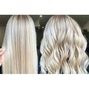Сложное окрашивание блонд