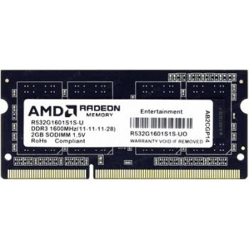 AMD R538G1601S2S-U DDR3 PC3-12800 8Gb